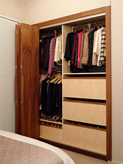 Black Walnut Wardrobe
